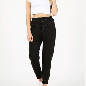 Button Front jogger